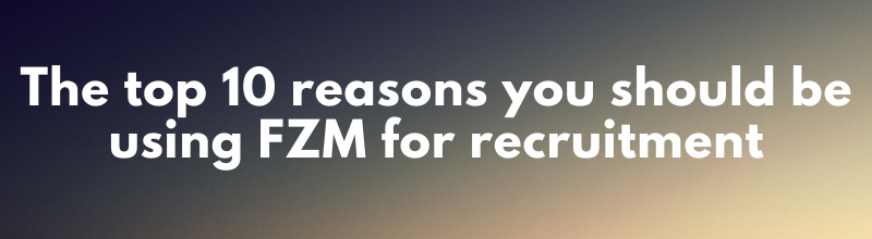 Top 10 Reasons to use FZM for best practice franchise recruitment and sales